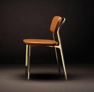 Coast Chair, Stuhl mit einer Mischung aus strengen und weichen Linien