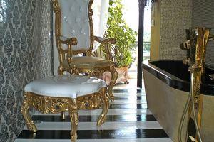 Finlandia S, Luxus klassischen Puff für das Haus, Barock