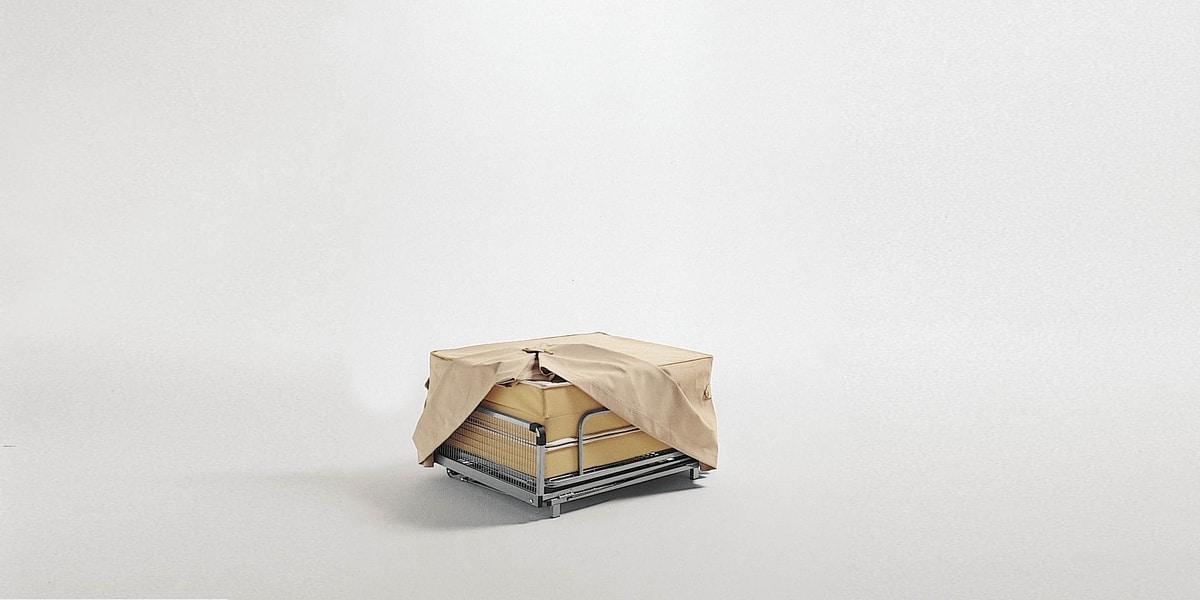 Dizzy pouf, Hocker Cabrio in ein Bett