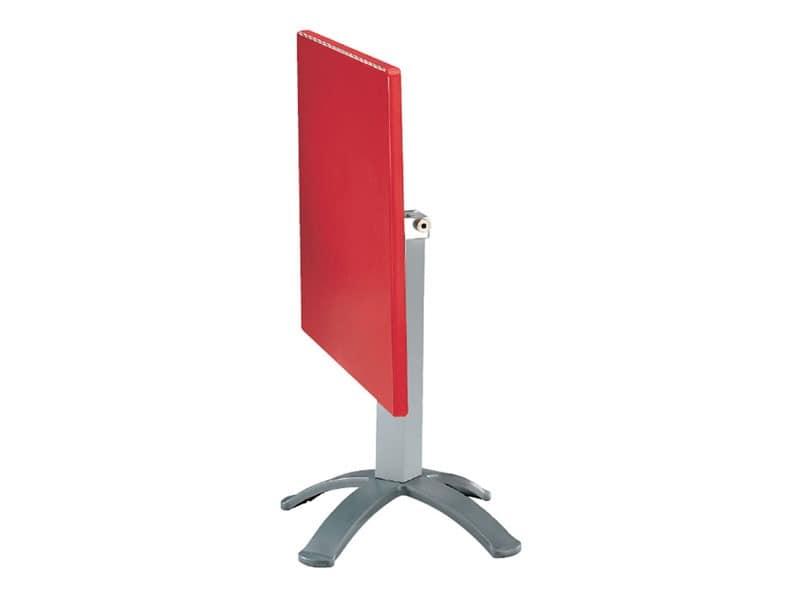 Table 72x72 cod. 06/BG4P, Folding Tisch im Freien, in Polymer und Aluminium