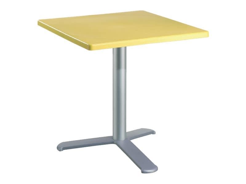 Table 80x80 cod. 23/BG3L, Witterungsbeständig Tabelle für Outdoor-Restaurant