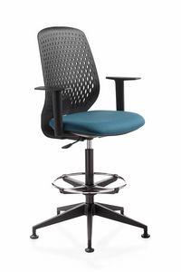 Key Smart stool, Drehhocker, für Büro und Empfang