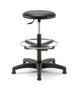 Mea Soft 03, Hocker mit runder Sitzfläche zur Aufnahme