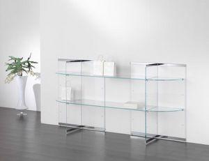 Glassystem COM/GS16, Glasdisplays für Geschäfte