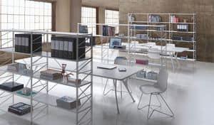 Socrate office, Modulare Regal für Bibliotheken und Geschäften