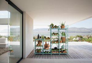 Socrate outdoor, Modulares Gartenmöbelsystem