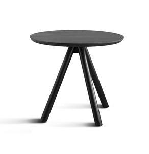 ART. 0098-3 AKY CONTRACT, Tischbasis für Bar mit drei Holzbeinen und Aschenspitze