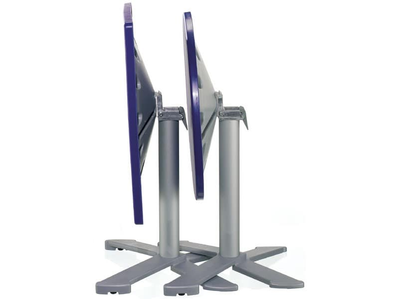 Table 72x72 cod. 06/BG4IP, Stapelbare Tische mit neigbarer top