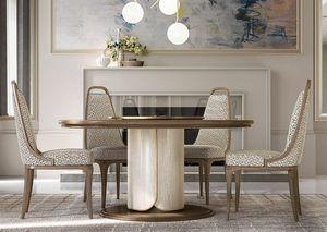 Alexander Art. A05, Runder Tisch mit Lazy Susan