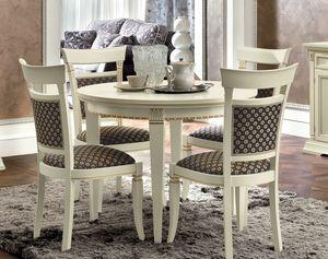 Treviso runder Tisch, Runder Esstisch