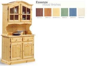 VAD/2, Anrichte im rustikalen Stil, Holz, für Wohnzimmer