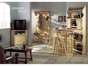 Collection Giorno, Sideboard für den Wohnbereich, im rustikalen Stil