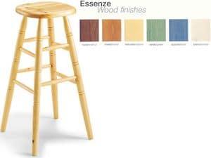 H/301 bar stool, Stuhl aus Buche, für Landrestaurant