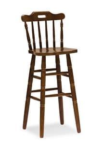 H/302 Land Stuhl, Im Landhausstil aus massiver Kiefer