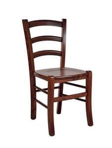 207 Massivholz, Provencal Stuhl aus massiver Buche, für Restaurant