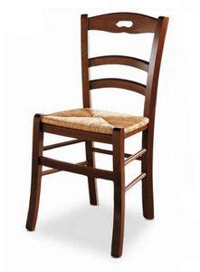 Menton, Stuhl mit Strohsitz