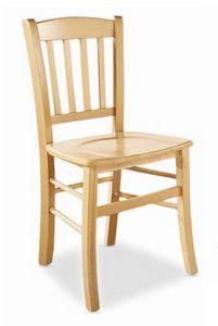 Nizza, Rustikaler Stuhl für Bauernrestaurant