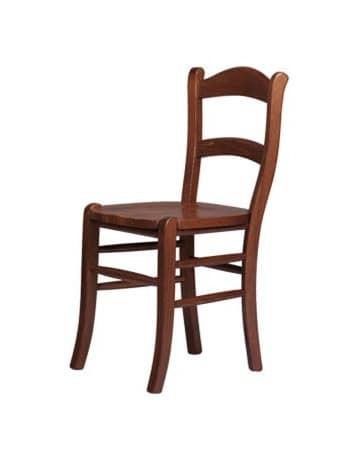 R06, Rustikal Stuhl aus massiver Buche, sitzen in verschiedenen Materialien