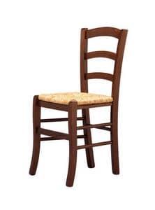 R07, Rustikal Stuhl, Sitzfläche, für Bars und Weinclubs