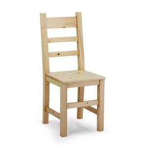 S/142 Heidi, Stuhl aus massivem Kiefernholz
