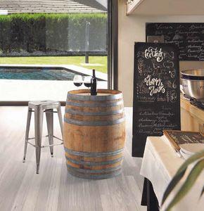 Botte, Fass als Tisch für Weinstuben verwendbar