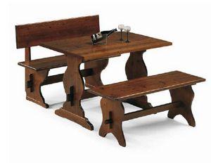 Rustica-T, Rustikaler Tisch für Bauernhöfe