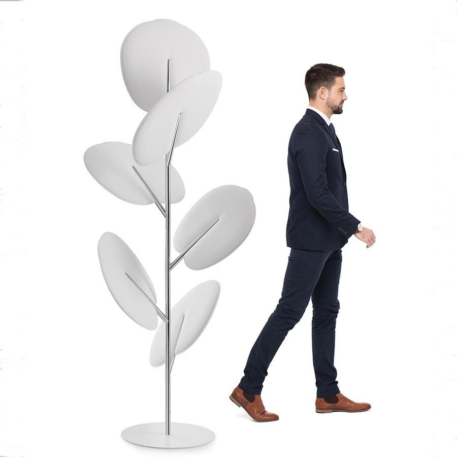 Botanica totem, Freistehende Schallschluckplatten