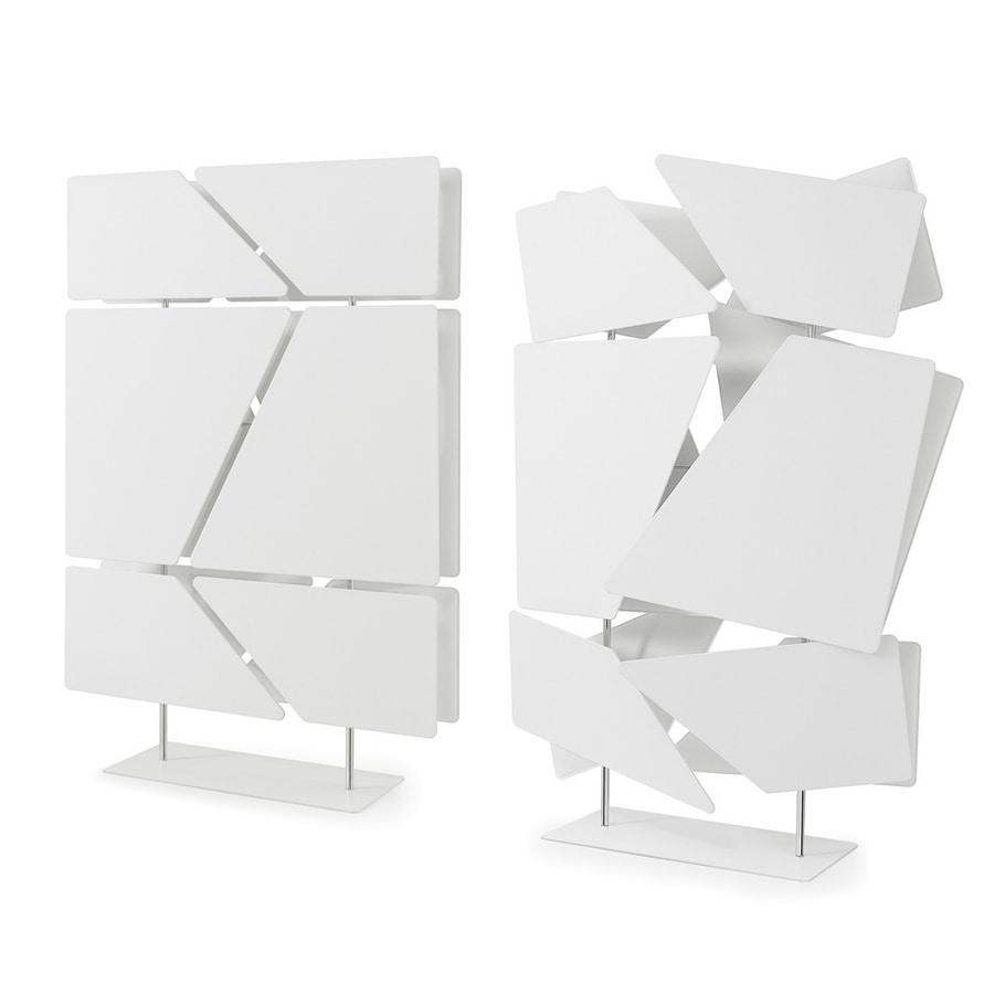Flat totem, Trennwand bestehend aus 12 Schallschluckplatten