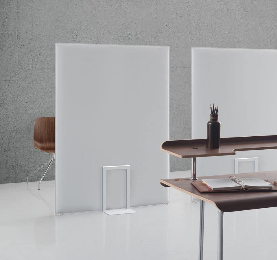Pli Oversize, Akustikplatten, die verwendet werden können, um Platz zu unterteilen, Snowsound Technik