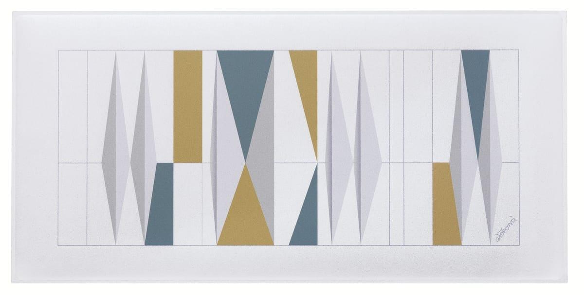 Snowsound art - Gio Ponti, Schallschluckende Platten mit Zeichnungen von Gio Ponti