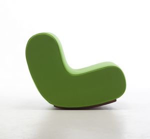 Simple rocking chair, Schaukelsessel, Sitz in feuerfesten Schaum, Modul Polster