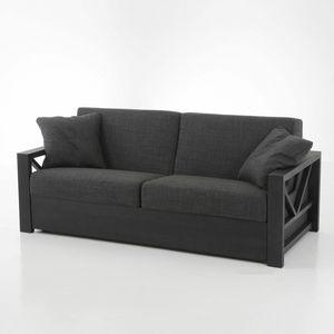 Hollywood Bed, Massivholz-Schlafsofa