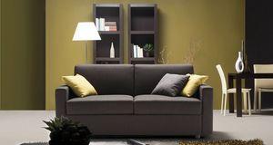 Jan, Sofa mit strengen Formen
