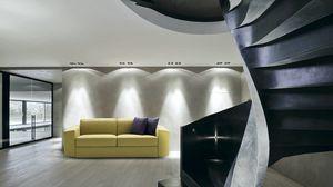 Melvin, Modernes Sofa, umwandelbar in ein Bett