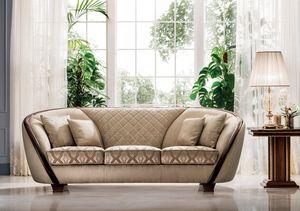 Modigliani 3-Sitzer-Sofa, Raffiniertes und praktisches Sofa