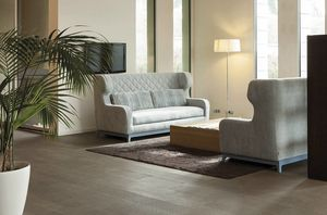 Morgan, Schlafsofa mit Art-Deco-Design