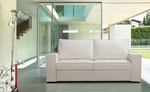 Salento, Schlafsofa mit linearem Design