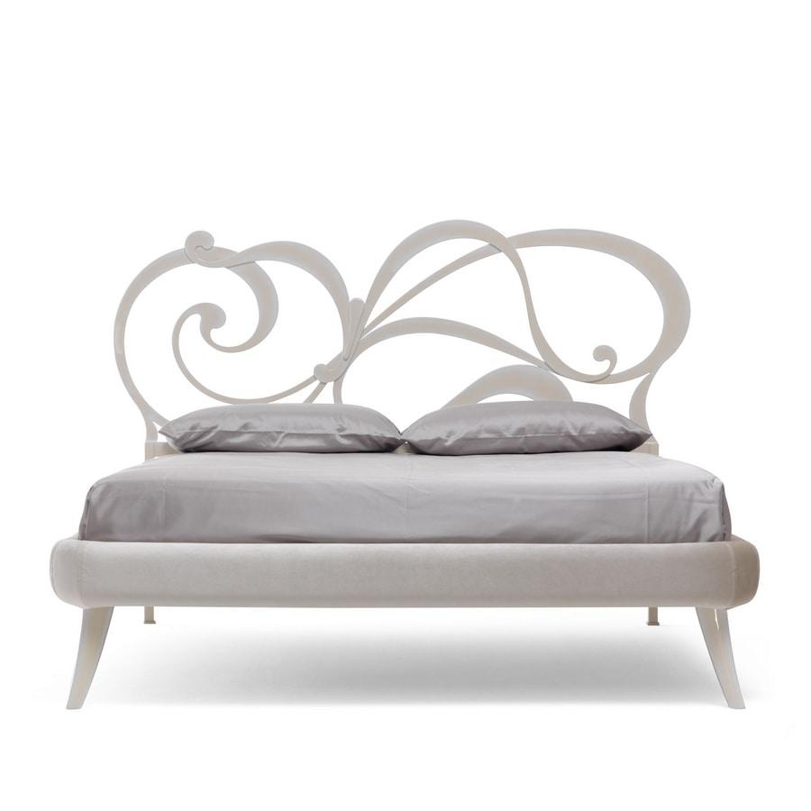 Fred Art. 952-T, Bett aus lasergeschnittenem Eisen