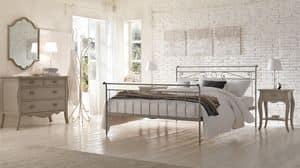 Louis Philippe Betten, Moderne Bett in Eisen, Technik Heiß Verschrauben angewendet