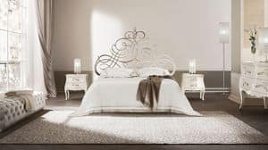 Pascià letto, Flacheisen Bett, in verschiedenen Größen, für Hotels