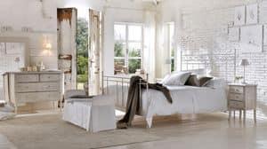 Sirolo letto, Eisenbett, drahtes, verschiedenen Ausführungen, für Hotels