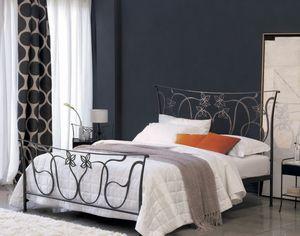 Violetta, Doppelbett aus Schmiedeeisen