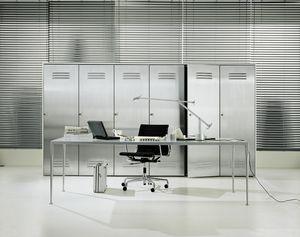 CITYBOX comp.02, Kabinett für Büro, mit Stahltür