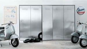 CITYBOX comp.03, Schrank mit Stahltüren für Garagen und Fitness-Studios