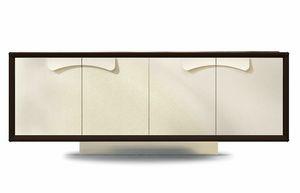 Astor, Sideboard mit Ledertüren