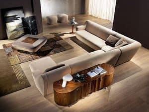 CR51 Sideboard, Nussbaum Sideboard ideal für Wohngebiete