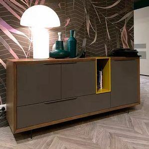 Desi Evo, Sideboard mit minimalem Design