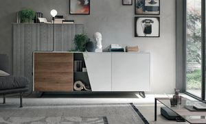 Diagonal, Sideboard mit zeitgem��em Design