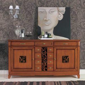 Giorgia GIORGIA3010, Sideboard mit Blumendekor