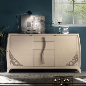 Luna LUNA5000, Elegantes Holz Sideboard